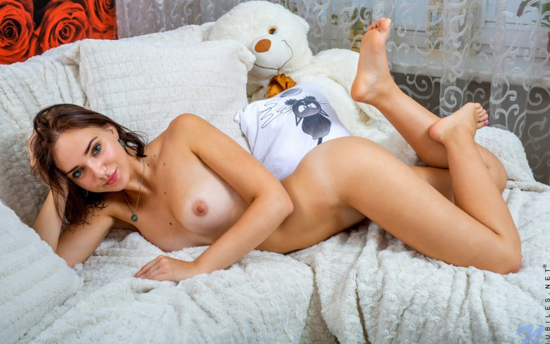Teen Cutie Oxana From Nubiles Plays With Herself